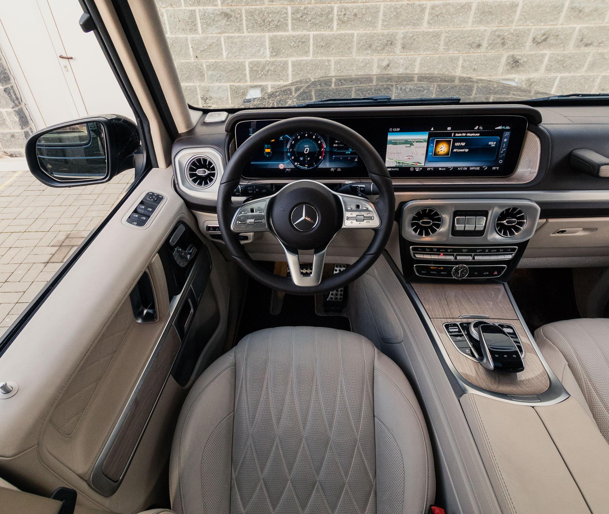 Mercedes G 500 2018 test