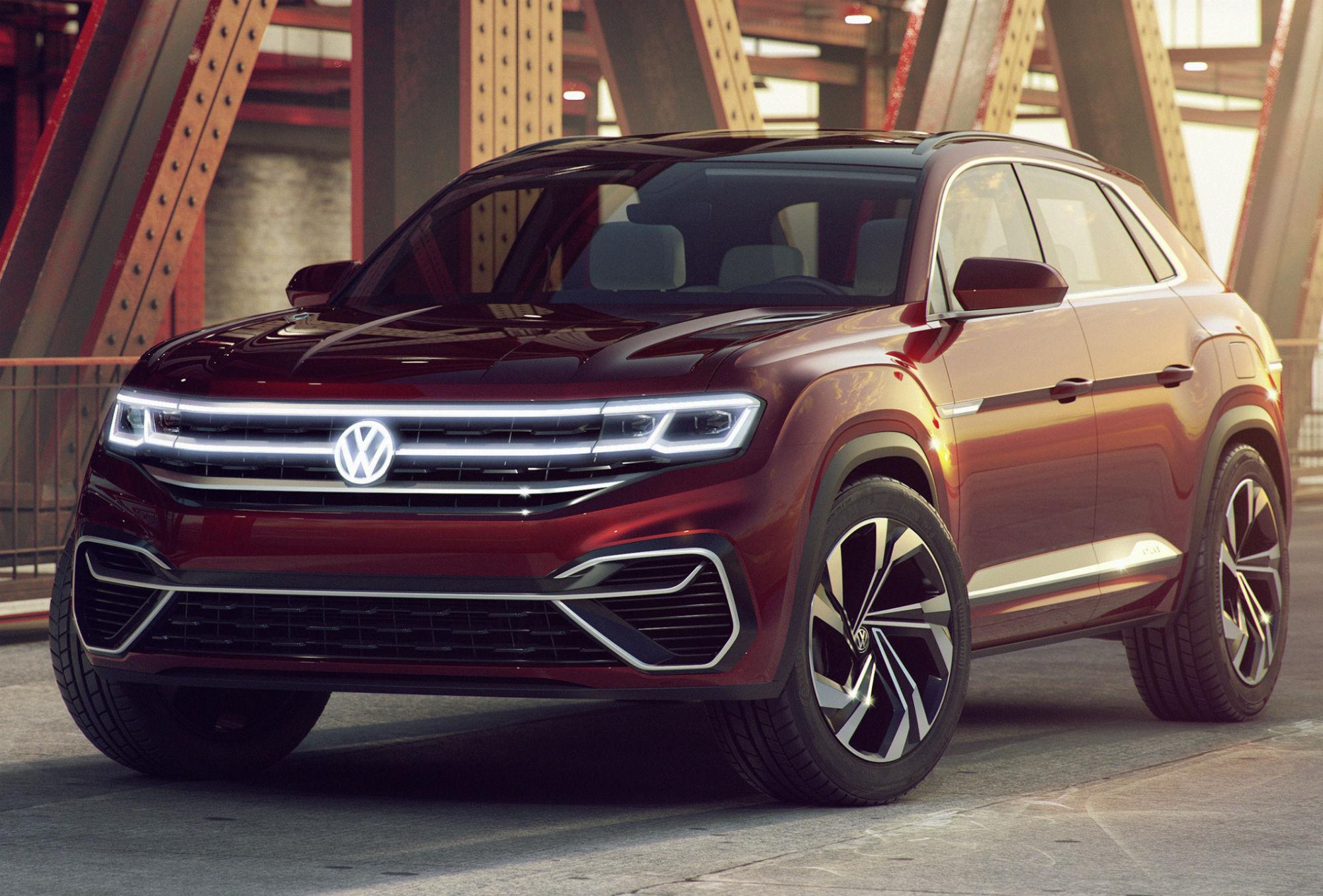 Koncepcyjny VW Atlas Cross Sport w USA