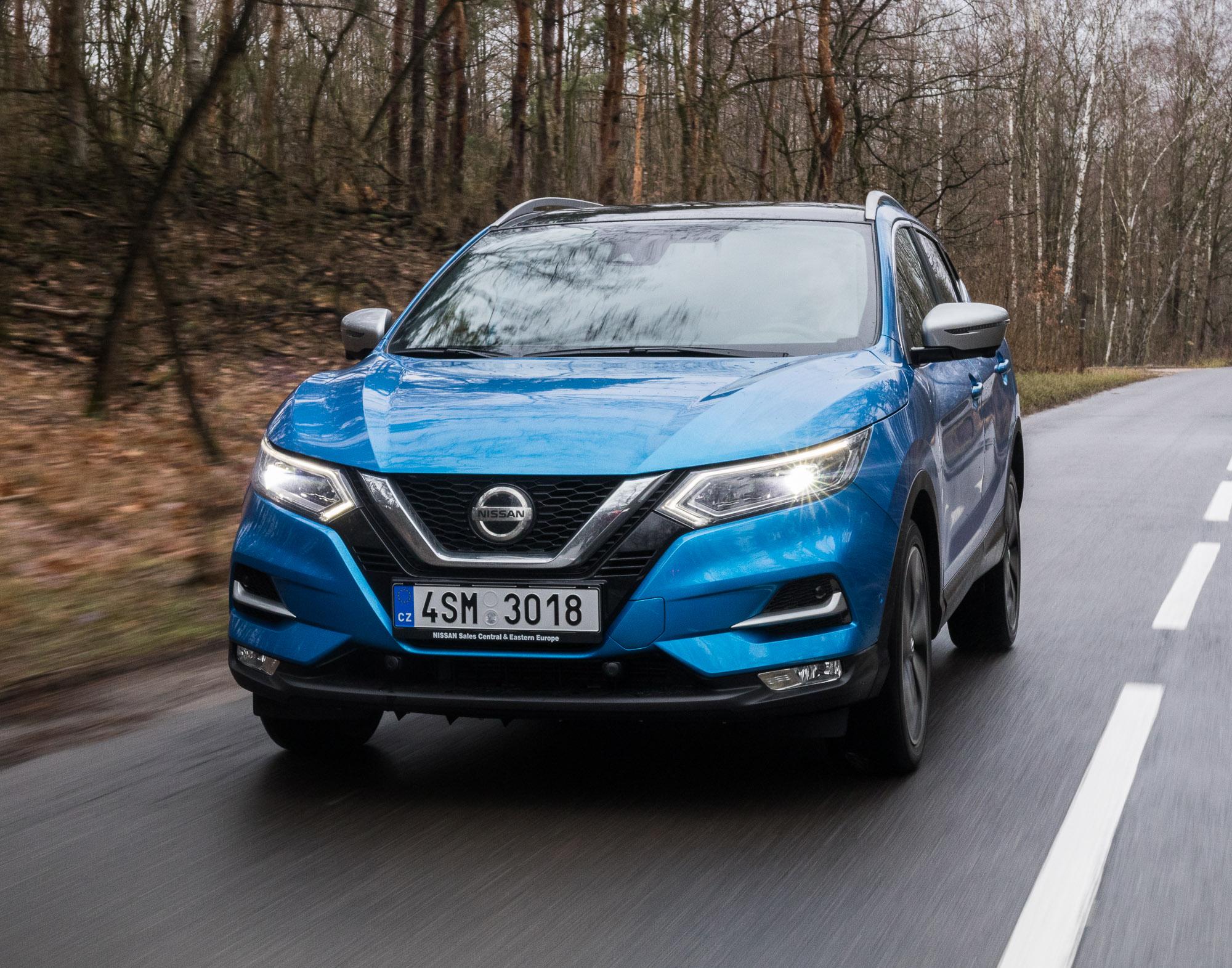 Nissan Qashqai 2019 test 1.3 TCe