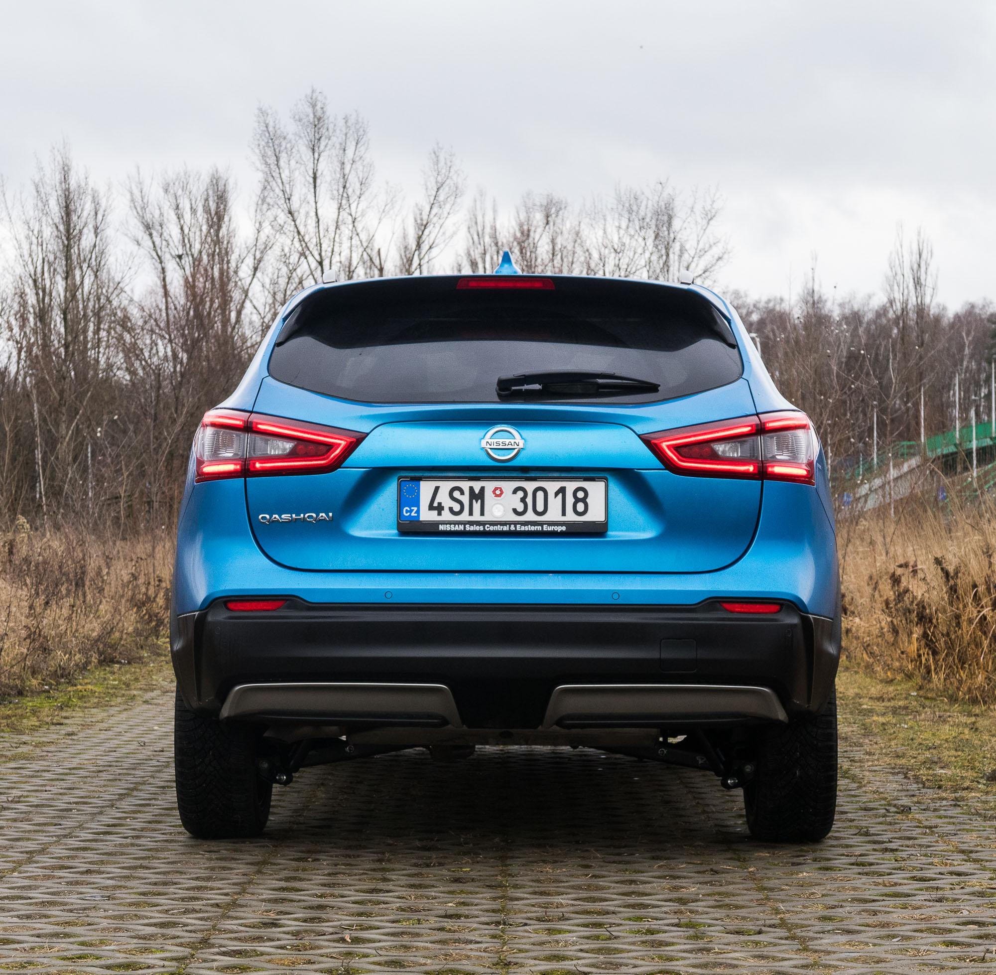 Nissan Qashqai 2019 test