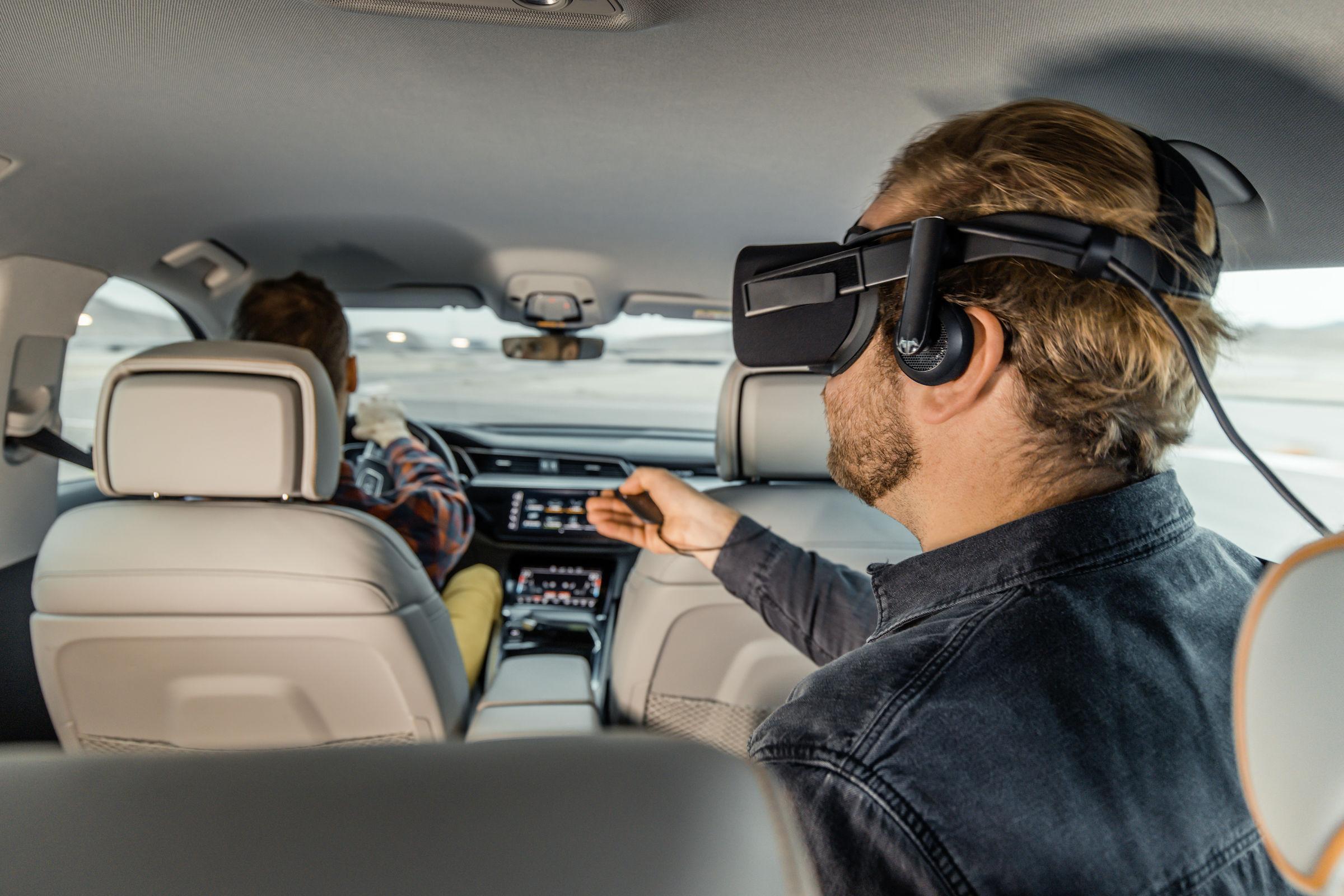 Rzeczywistość wirtualna Audi e-tron