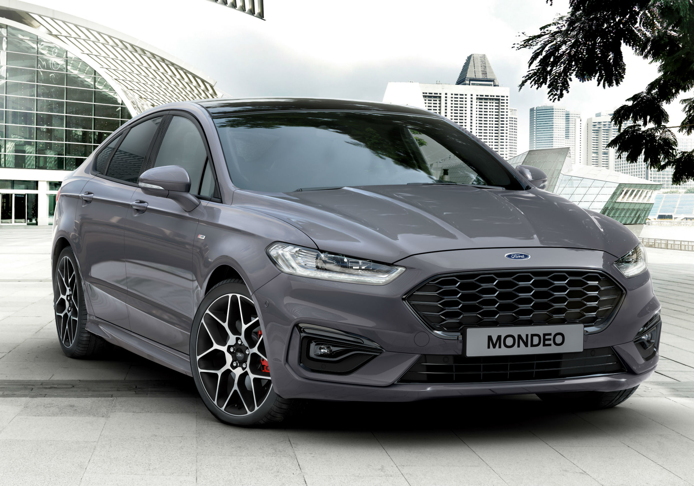2019 Ford Mondeo lifting