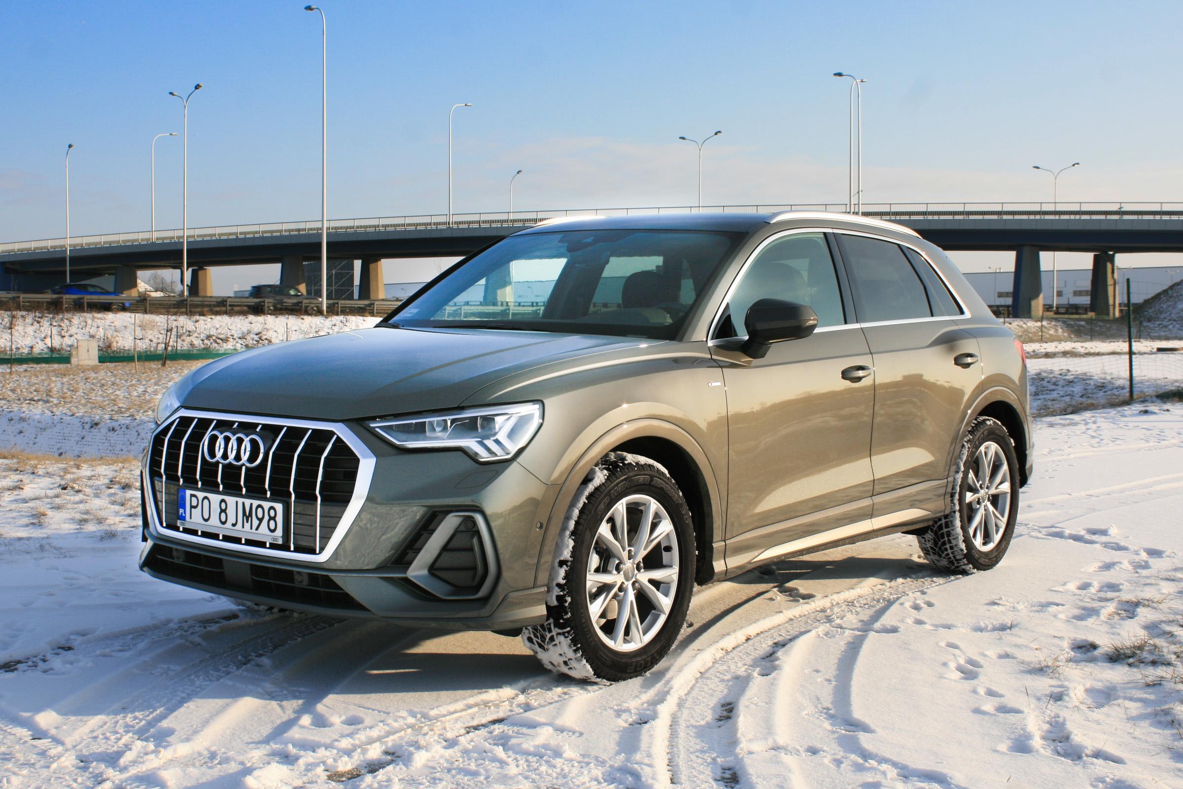 Audi Q3 2019 pierwsza jazda