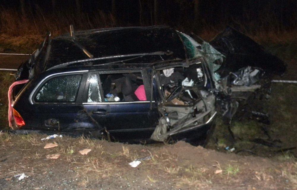 BMW wypadki