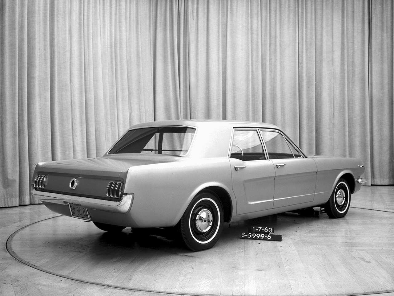 Ford Mustang prototypy