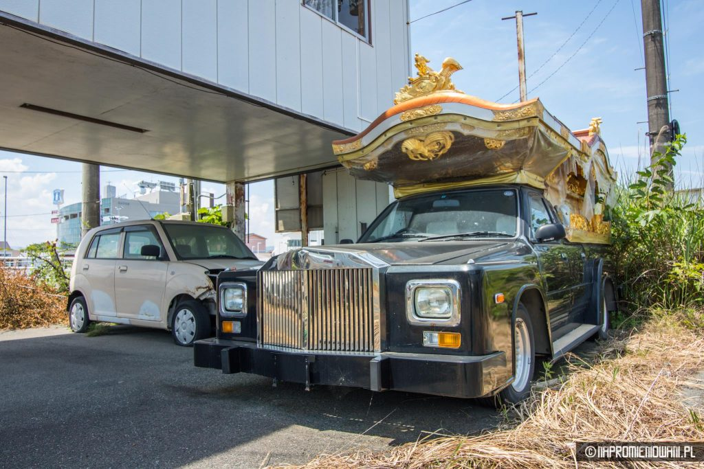 porzucone samochody fukushima