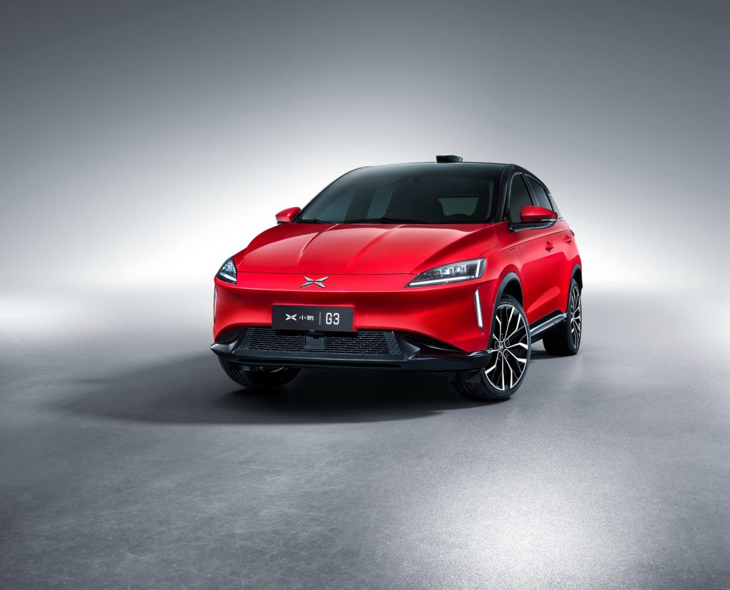 Tesla kopia Xpeng G3