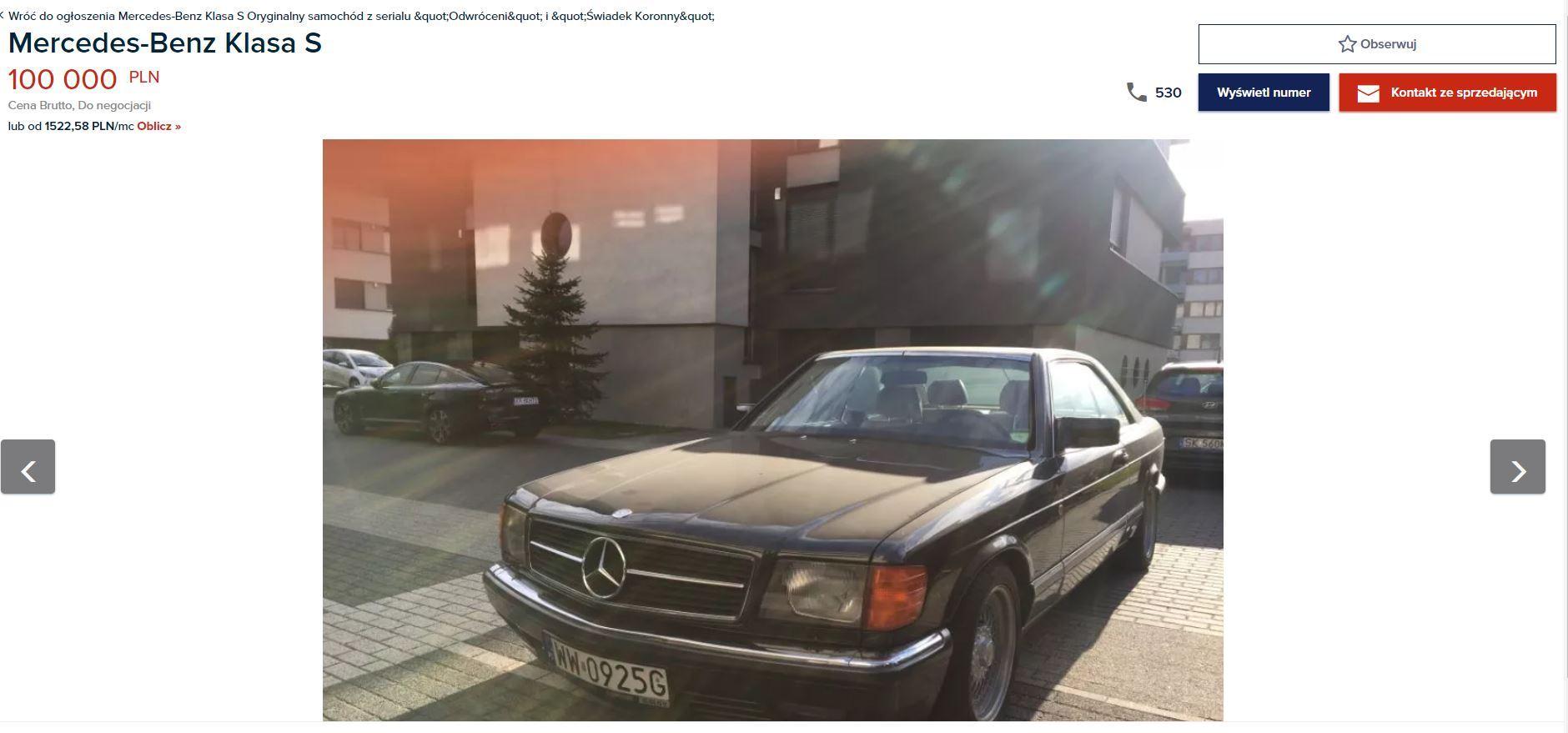 Kamil Durczok samochód