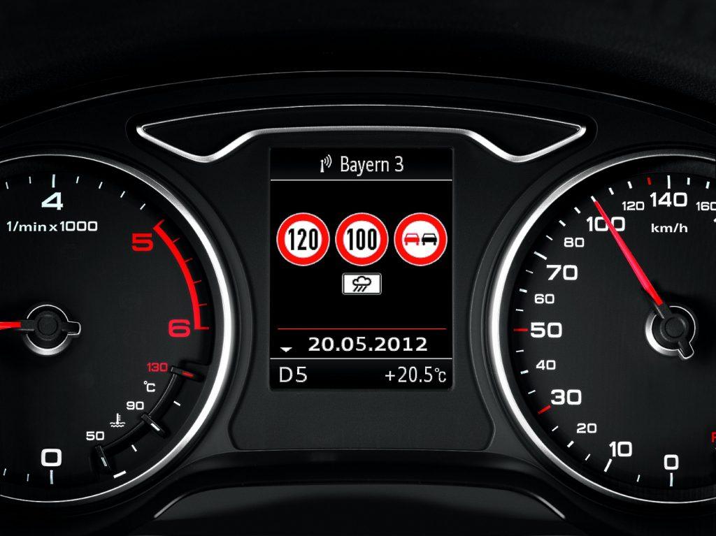 ogranicznik prędkości w nowym aucie