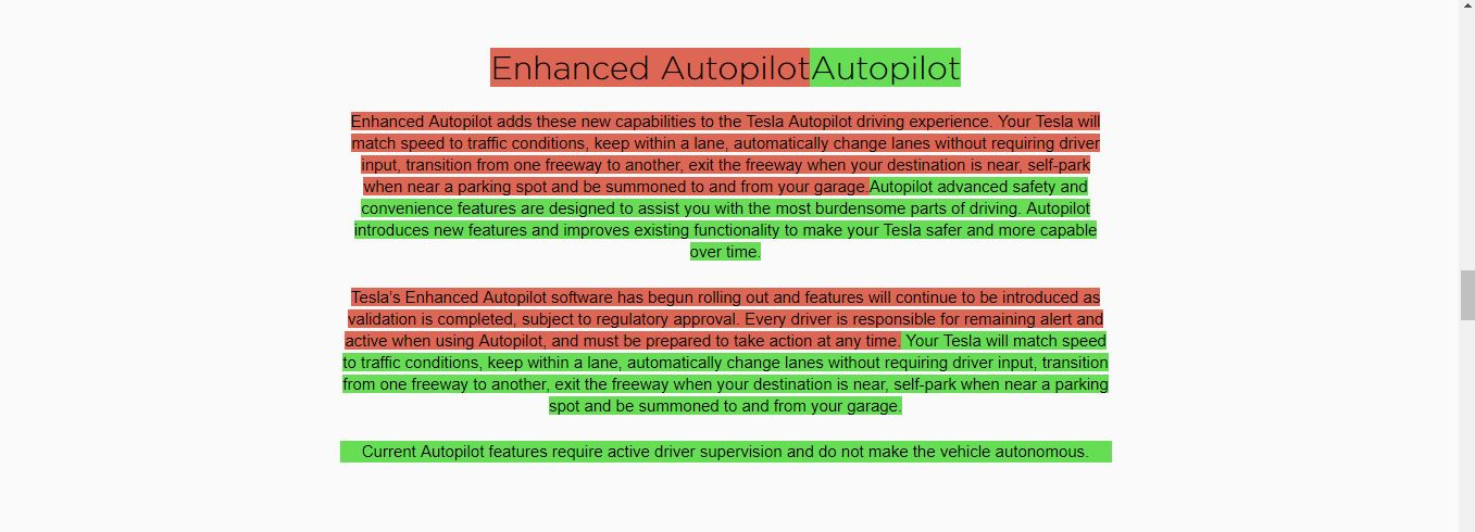 enhaced autopilot znika