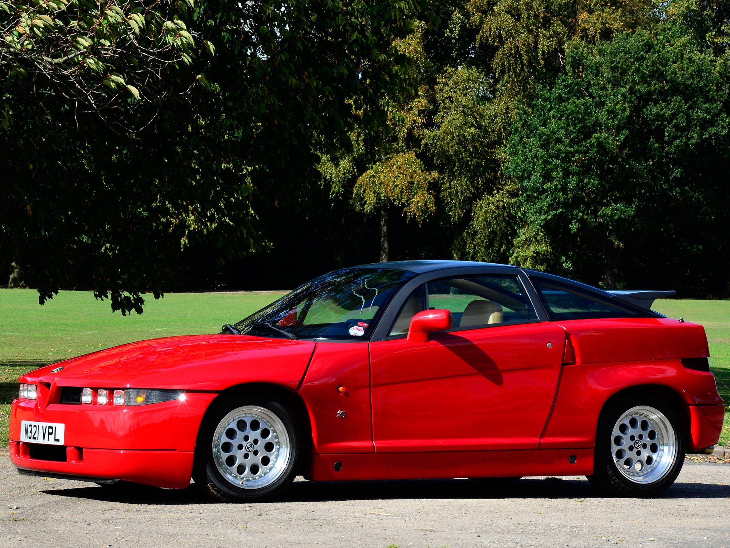 Alfa Romeo SZ historia