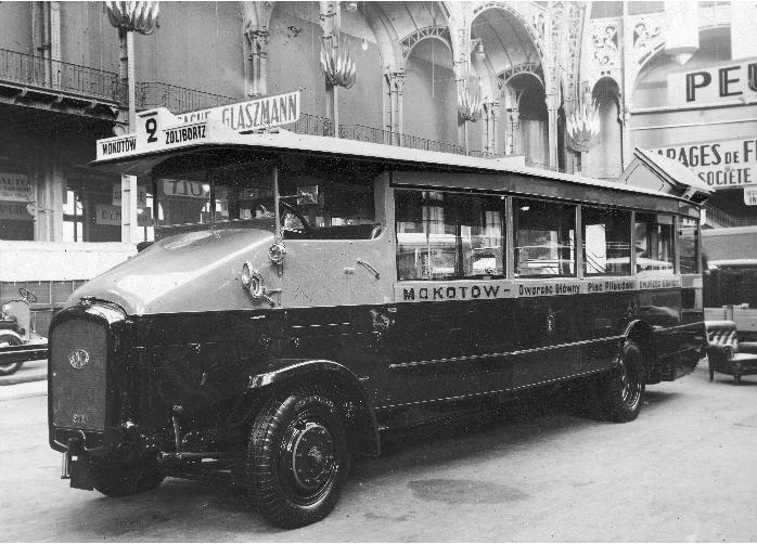 autobusy Warszawa historia