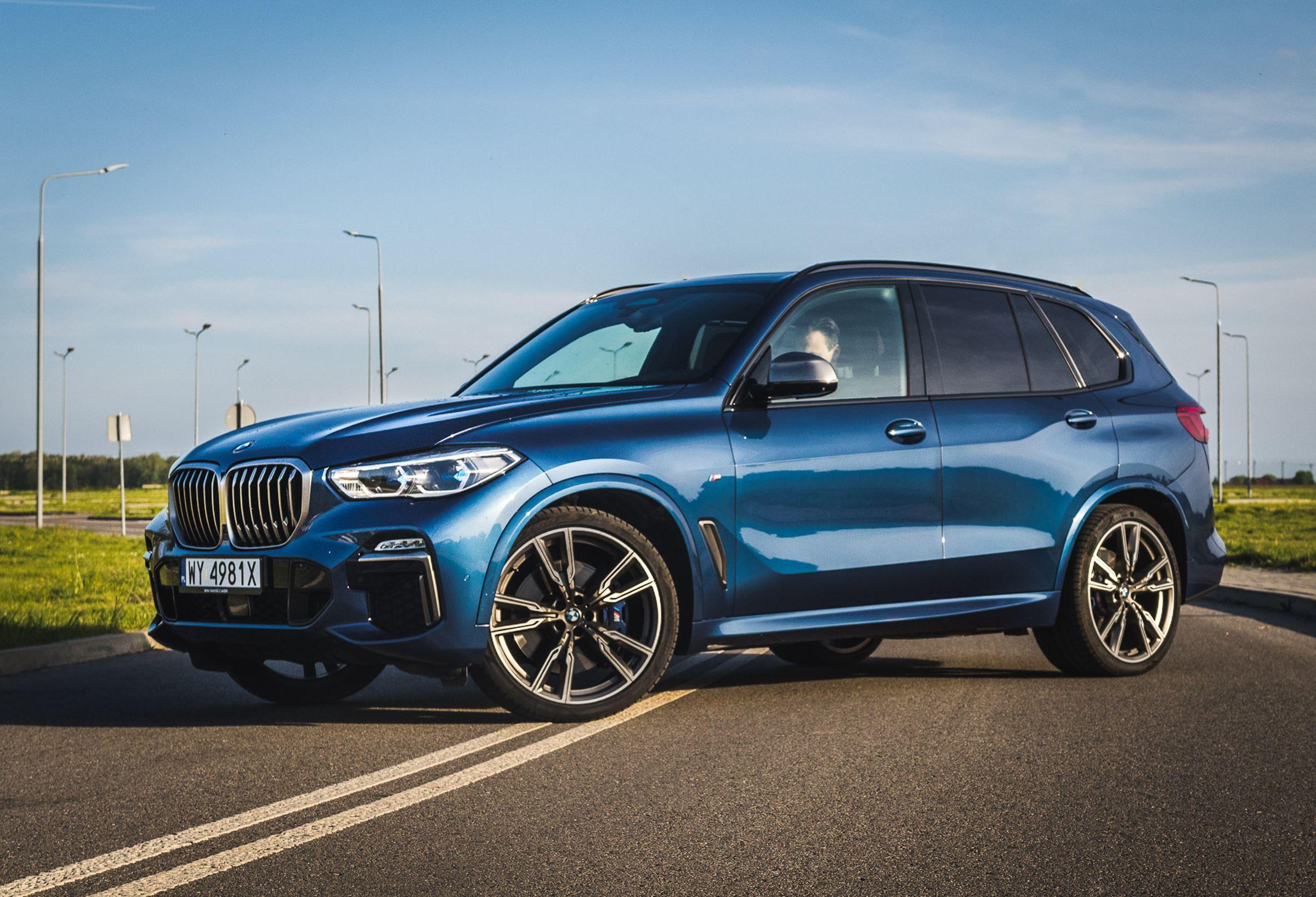 BMW X5 M50d 2019 test