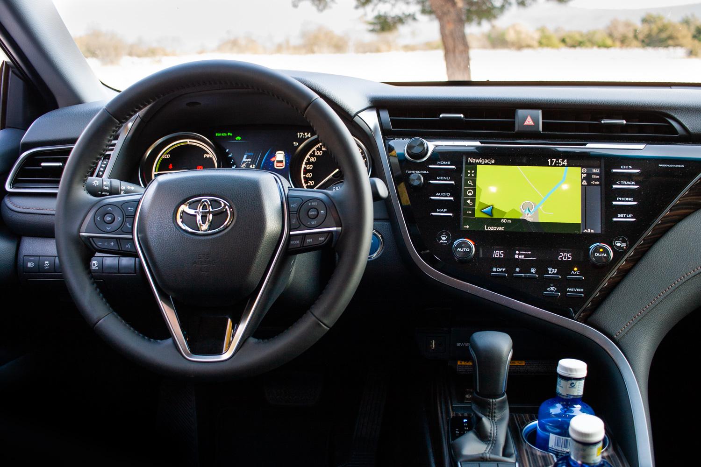 Toyota Camry 2019 test Polska