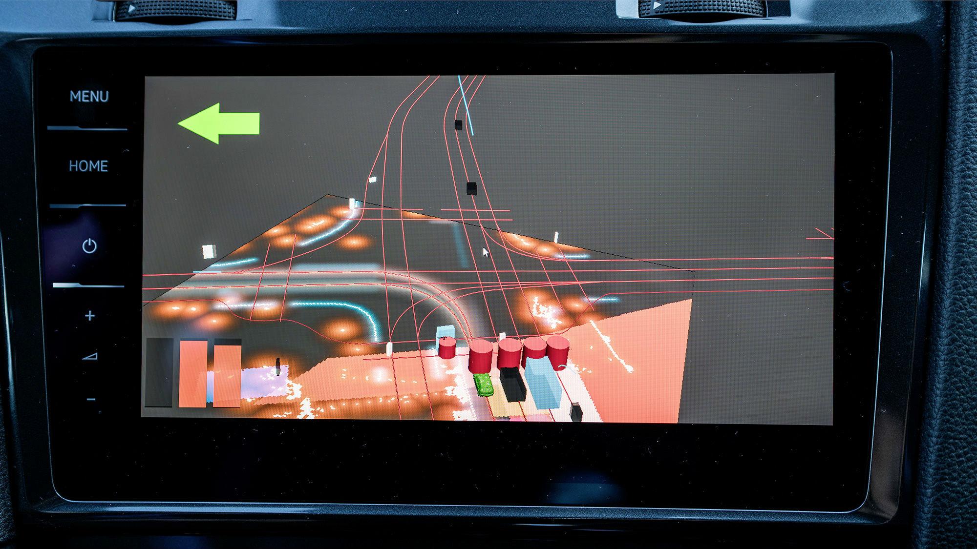 testy samochodów autonomicznych