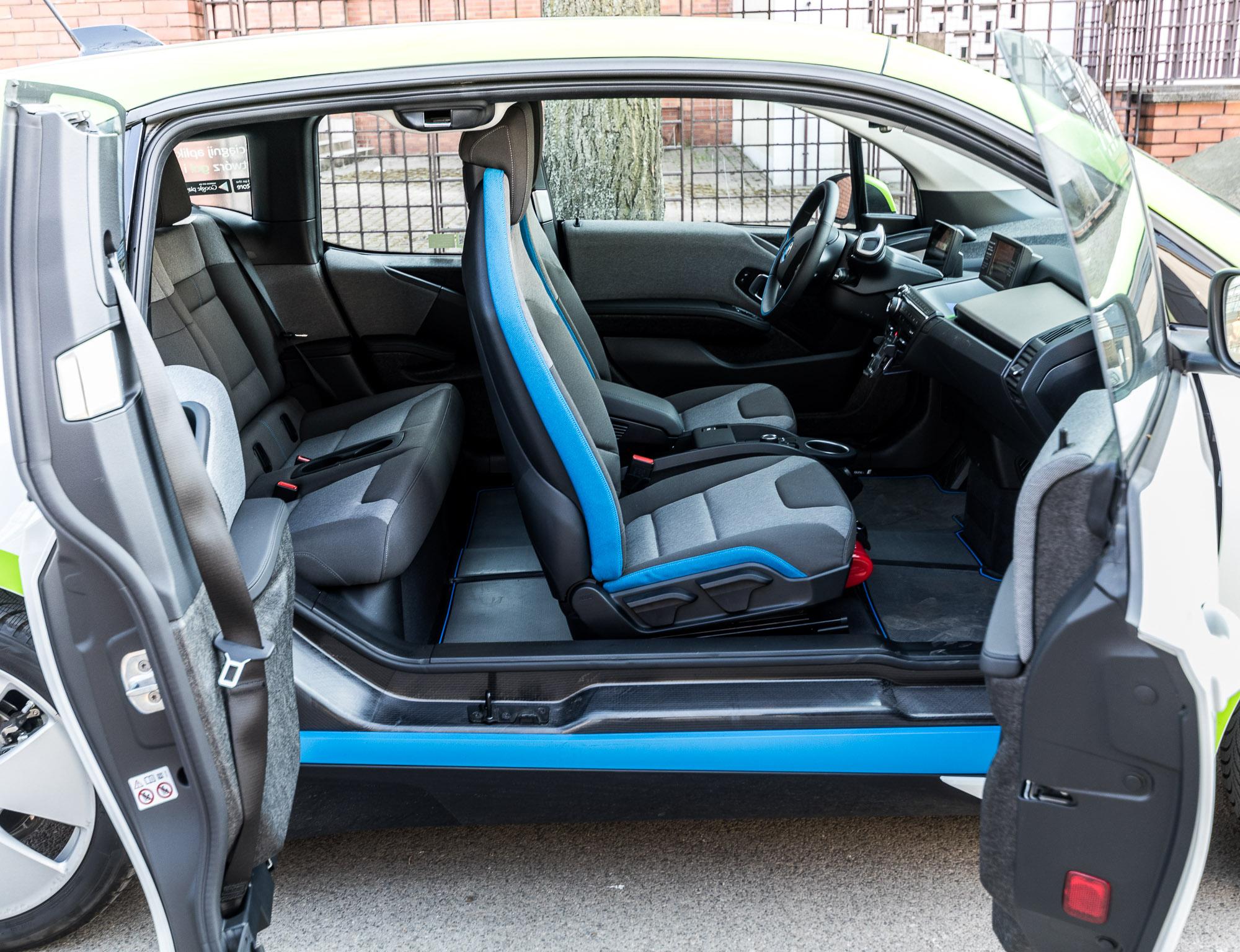 innogy carsharing opinie BMW i3