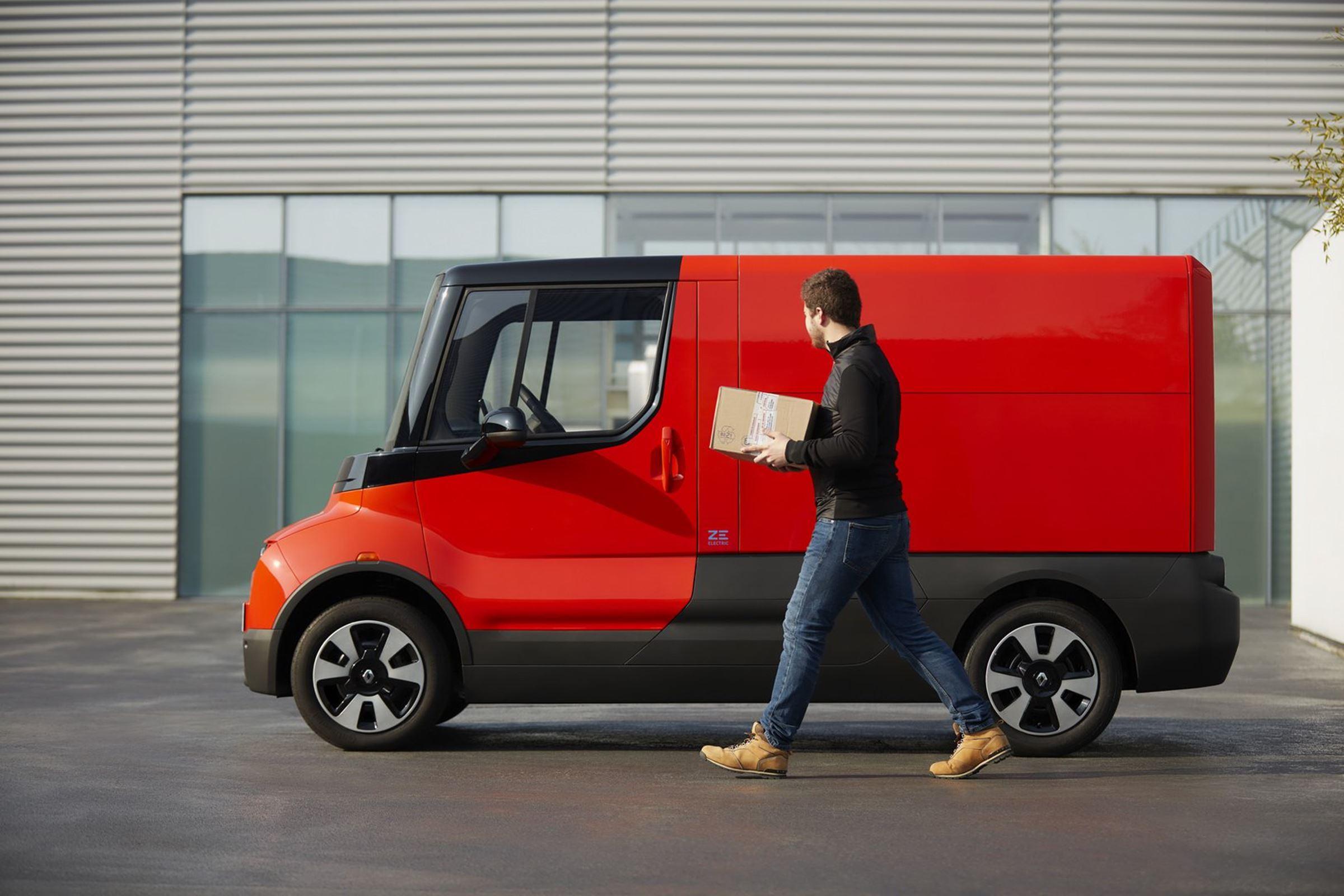 Renault elektryczny dostawczak