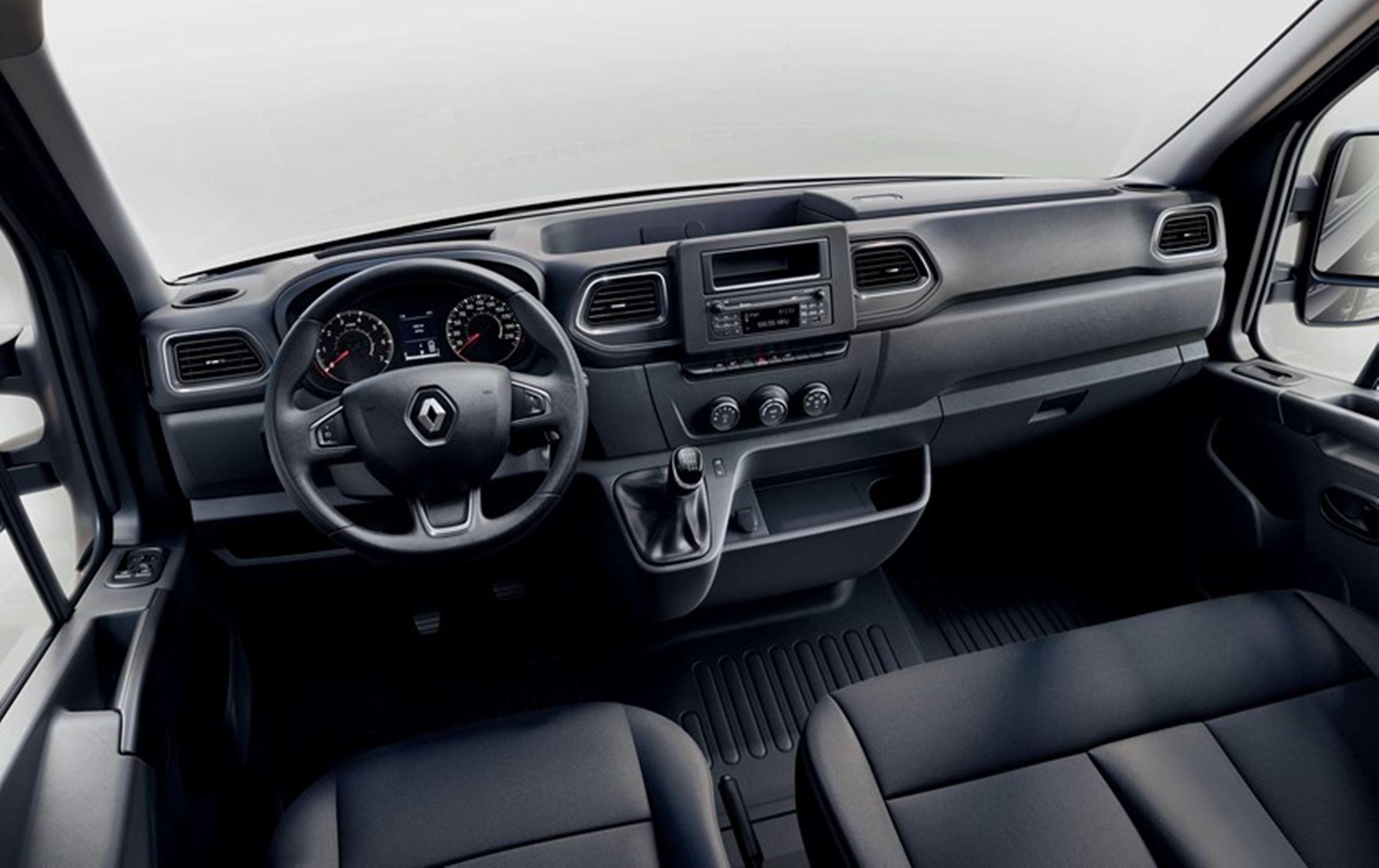 Renault Master lifting - wnętrze