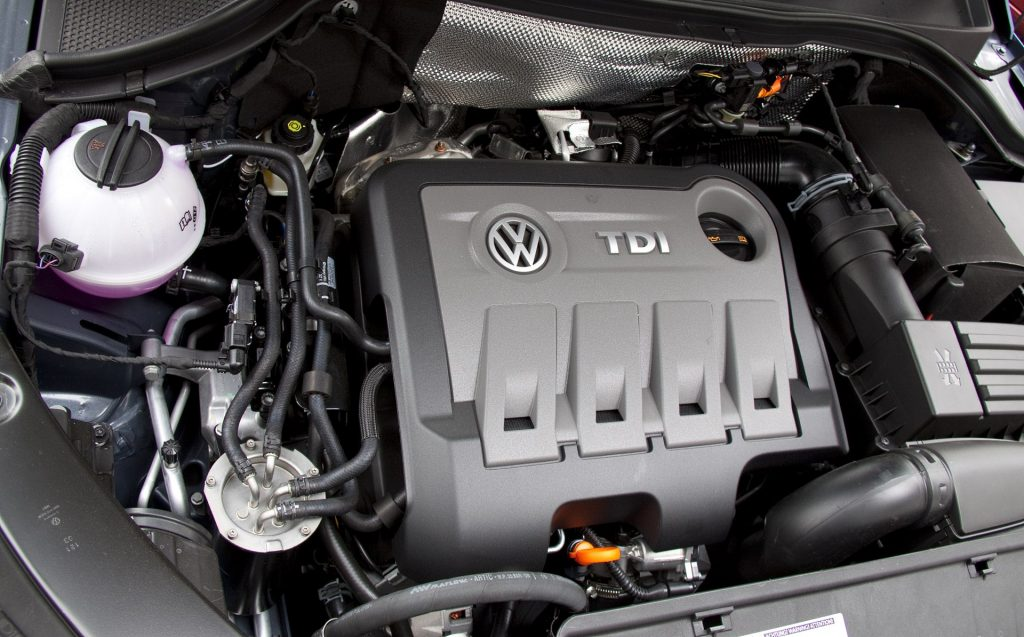 Volkswagen Tiguan awarie