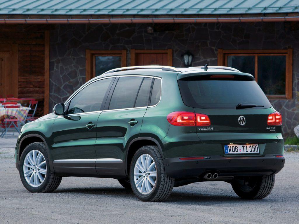 Volkswagen Tiguan problemy