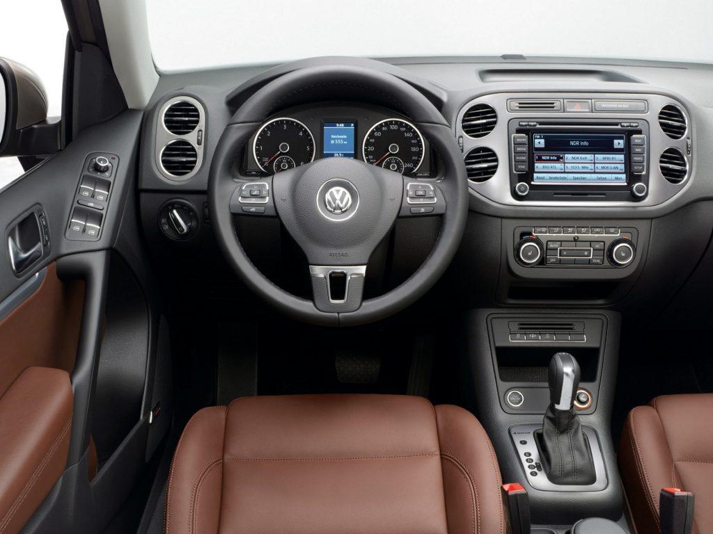 Volkswagen Tiguan usterki