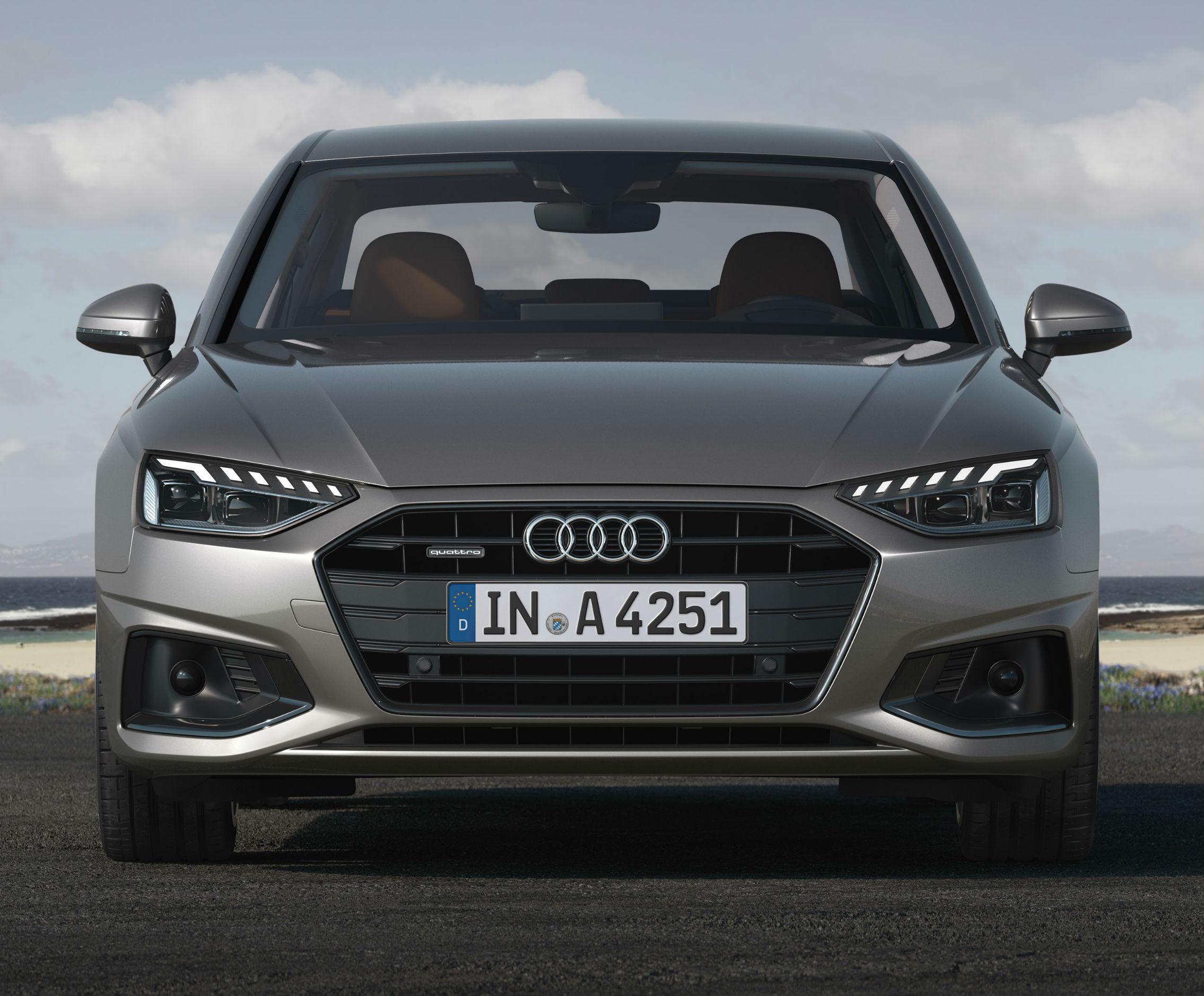 nowe Audi A4 lifting