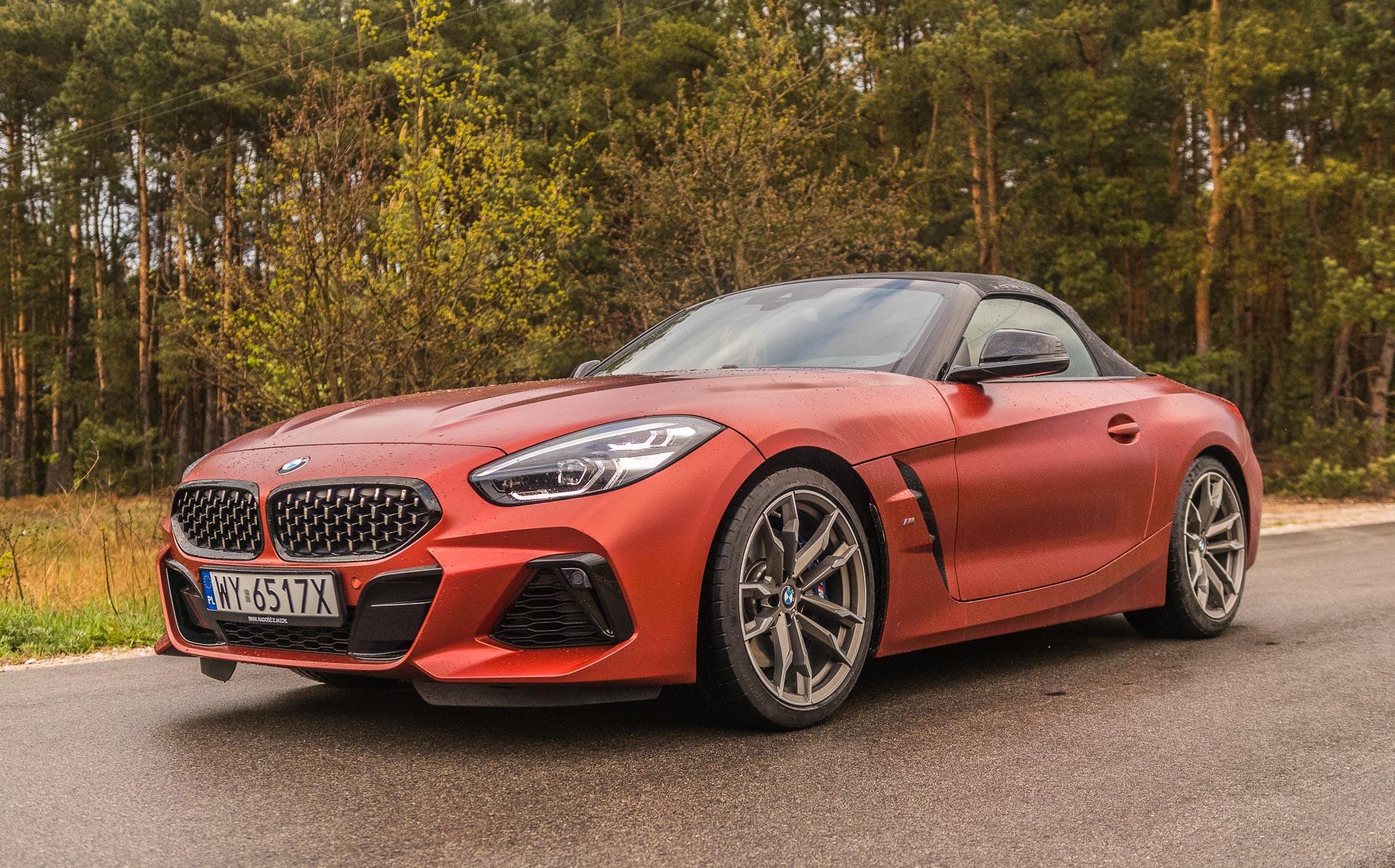 BMW Z4 2019 test