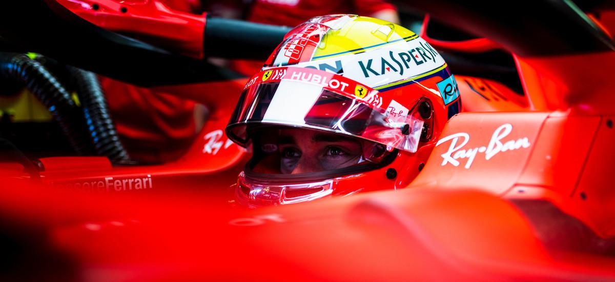 Charles Leclerc Ferrari F1 Monaco GP