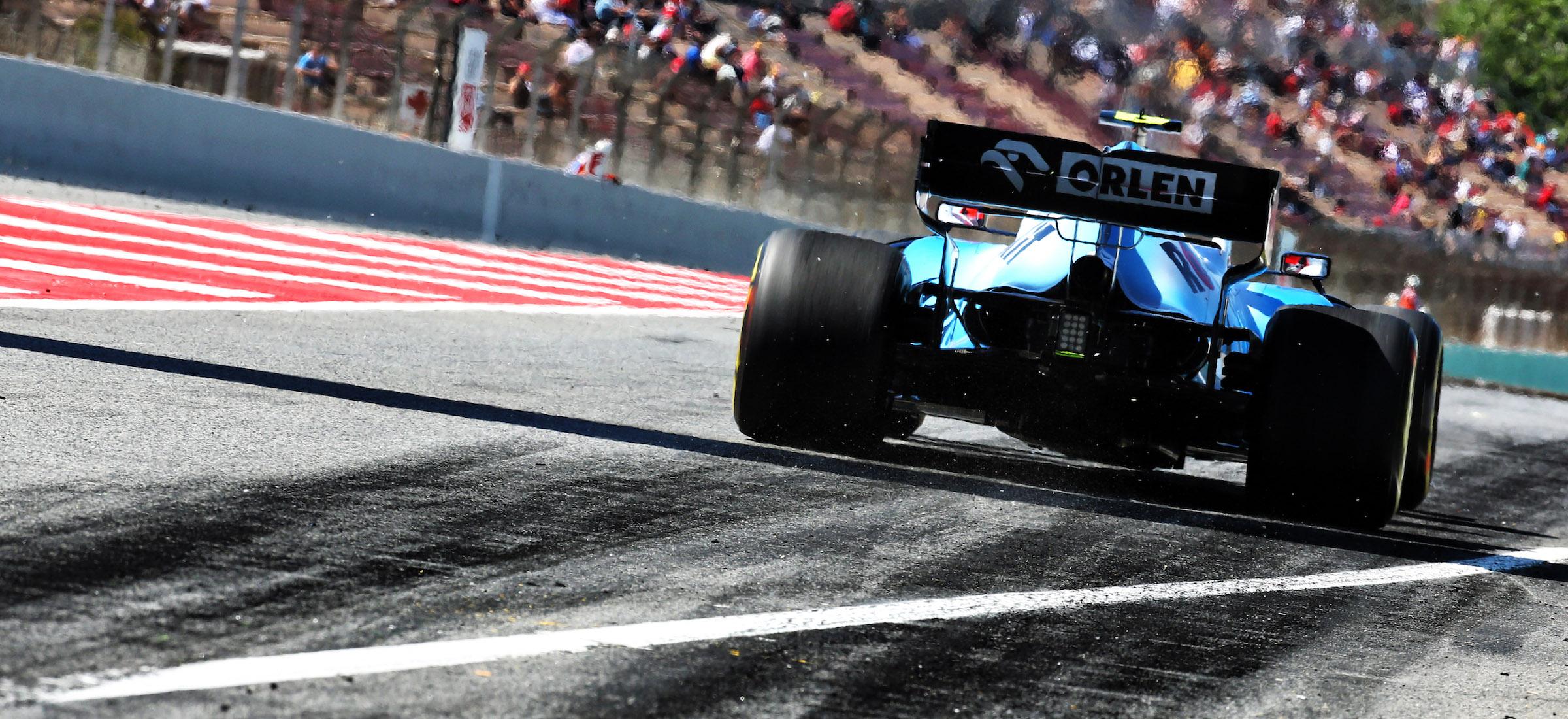 Robert Kubica Williams Formuła 1 Hiszpania