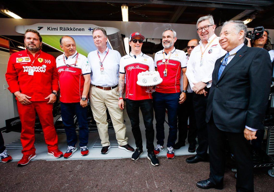 Kimi Raikkonen Formula1 Alfa Romeo 300 GP Monako