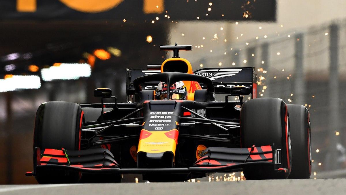 Max Verstappen RedBull Racing Monaco GP Formuła 1