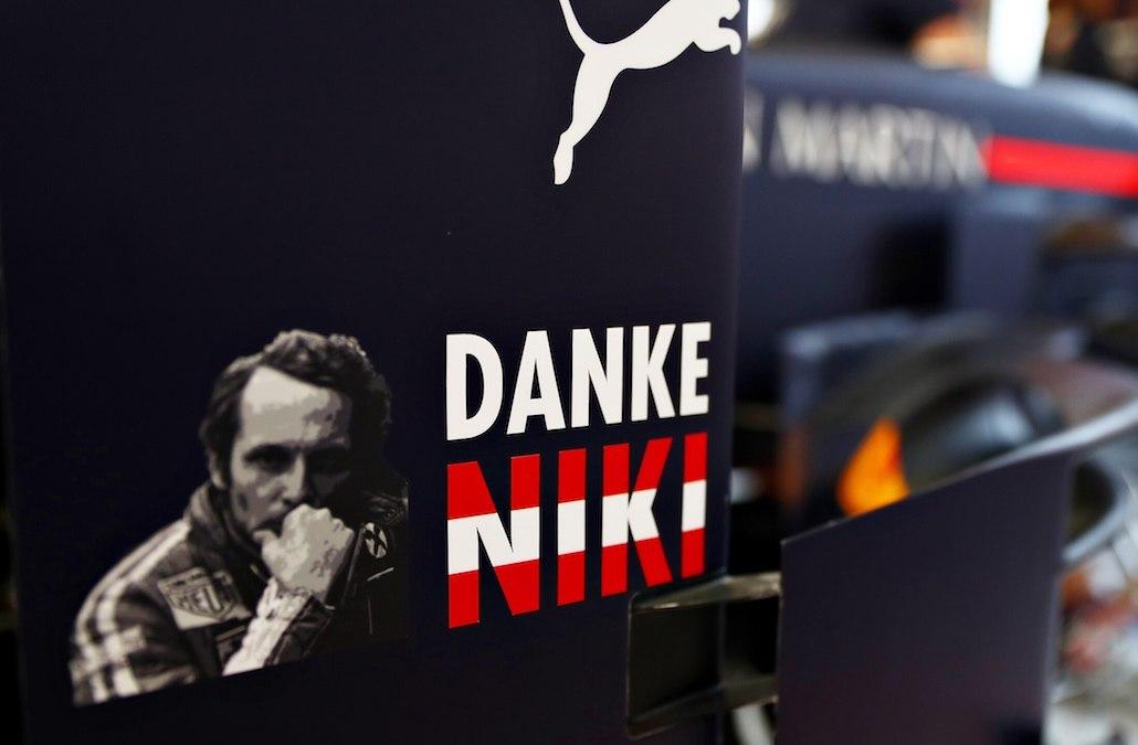Niki Lauda RedBull Racing Monako GP