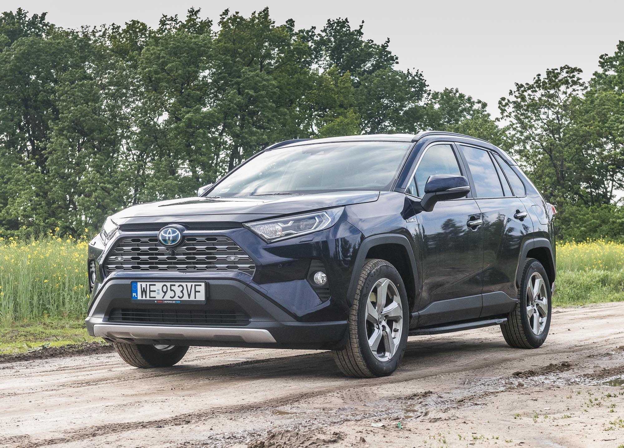 Toyota RAV4 2019 hybrid test
