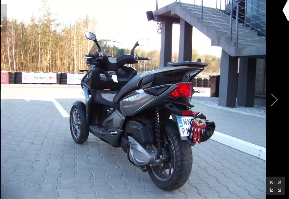 motocykl na kat b Quadro 350