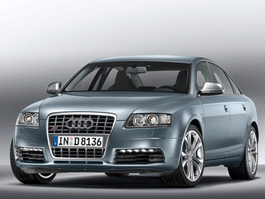 fałszywe końcówki układu wydechowego Audi S6