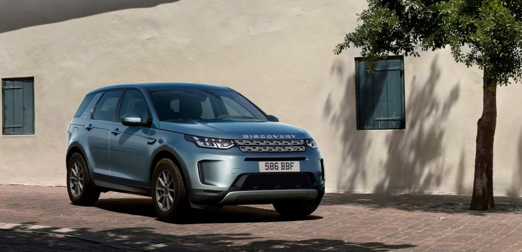 Land Rover Discovery Sport lifting 2019