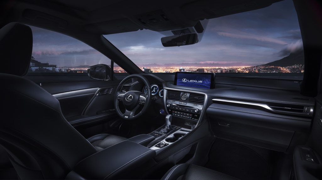 Lexus RX lifting 2019
