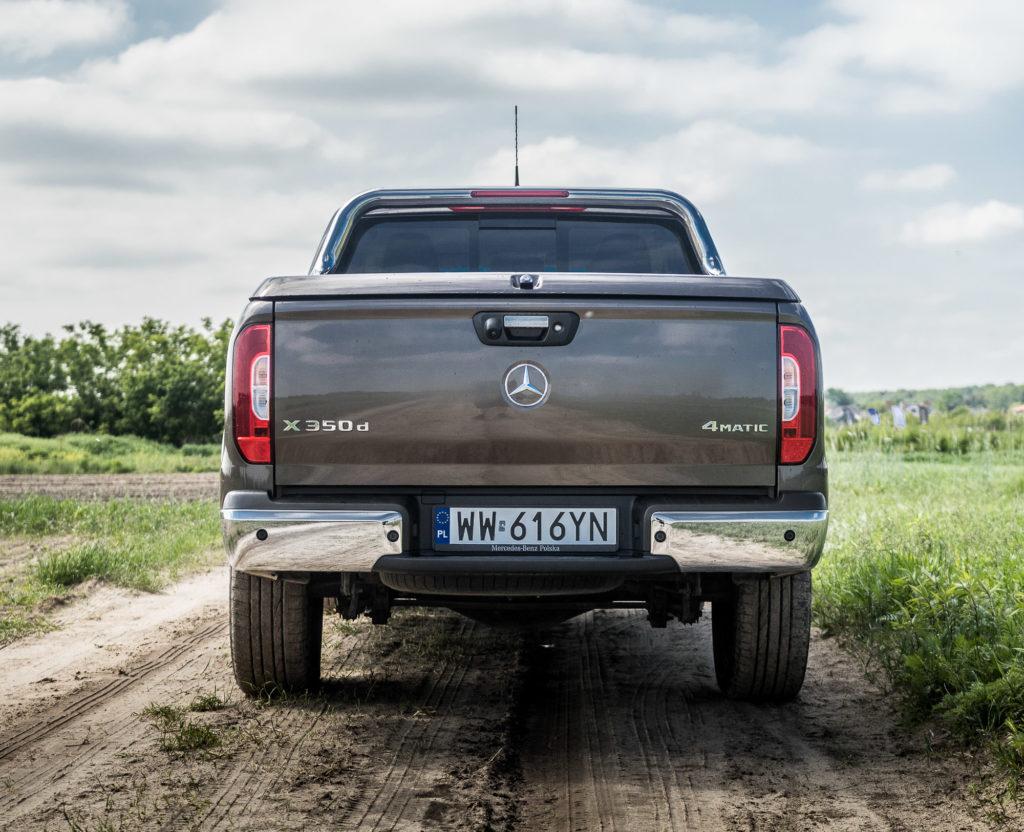 Mercedes X klasa test opinie