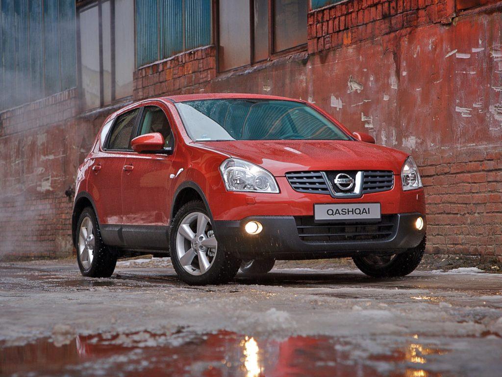Nissan Qashqai usterki