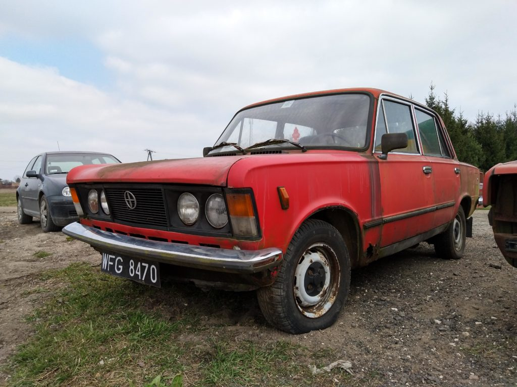 polski fiat 125p remont