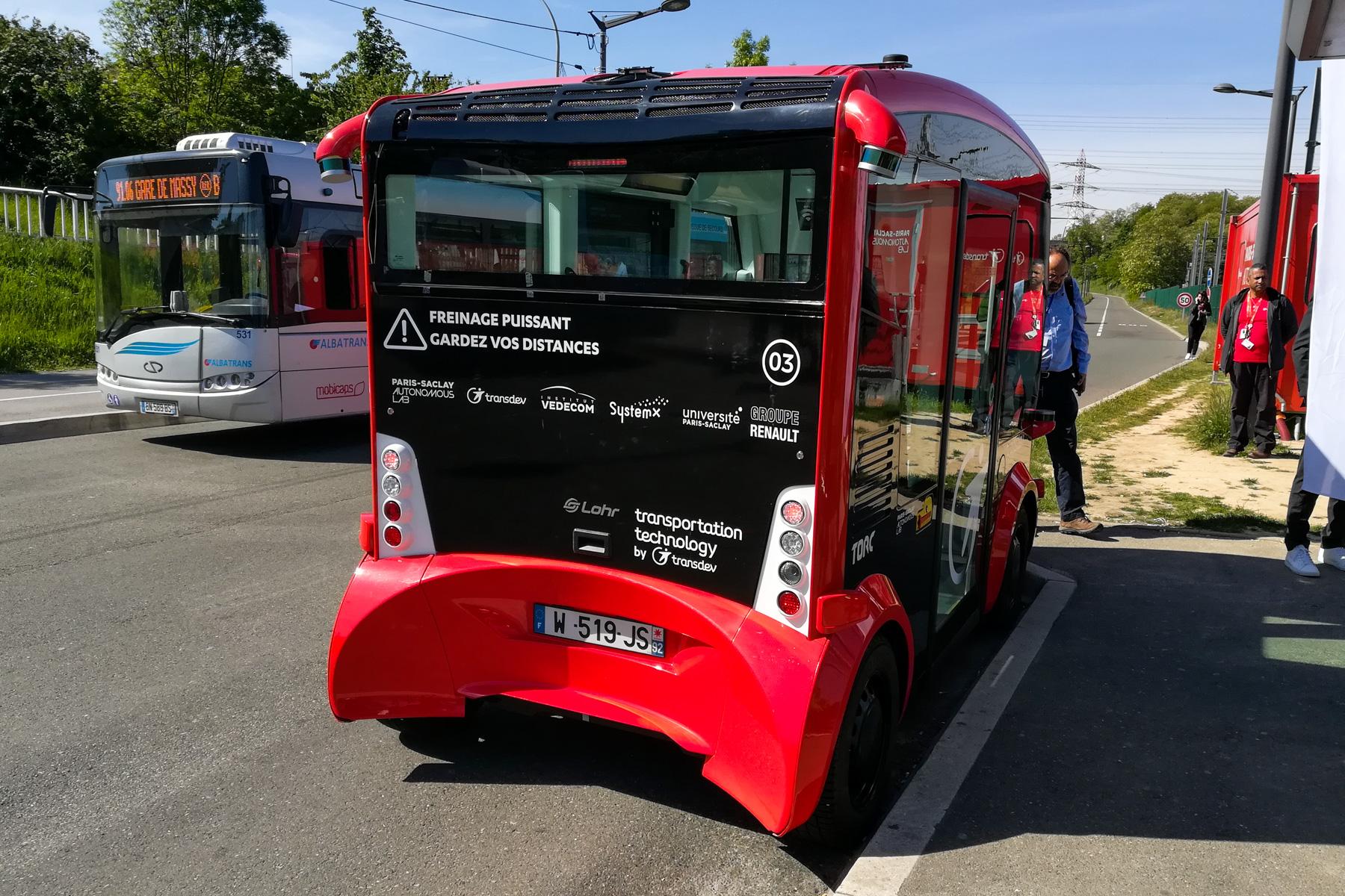 Renault autobus autonomiczny
