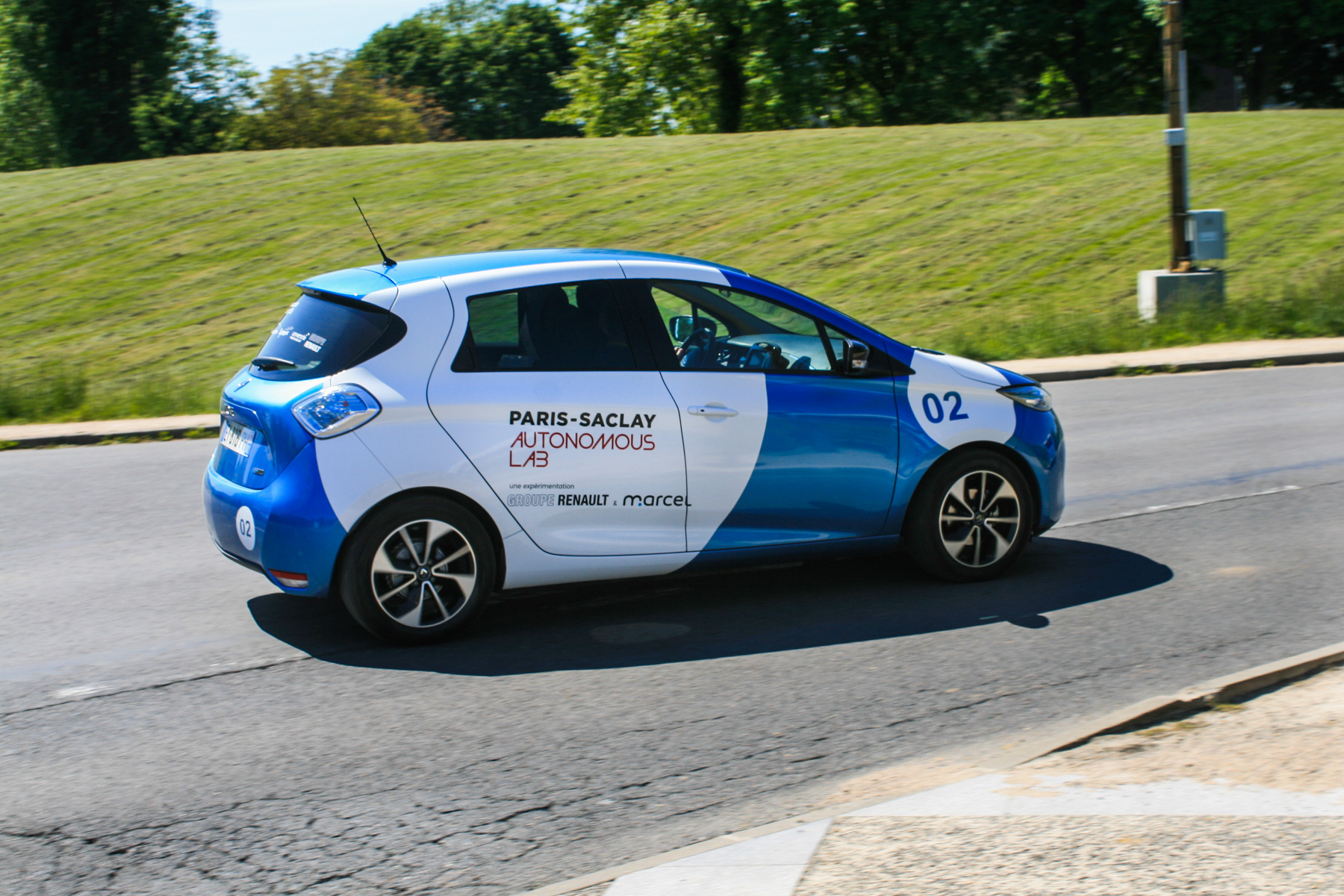 Renault ZOE autonomiczne