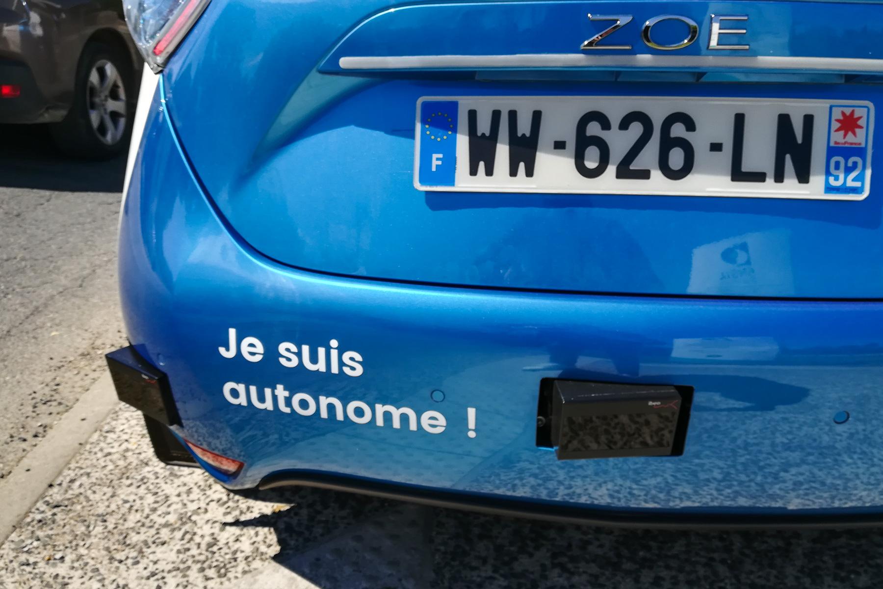 Renault samochody autonomiczne testy