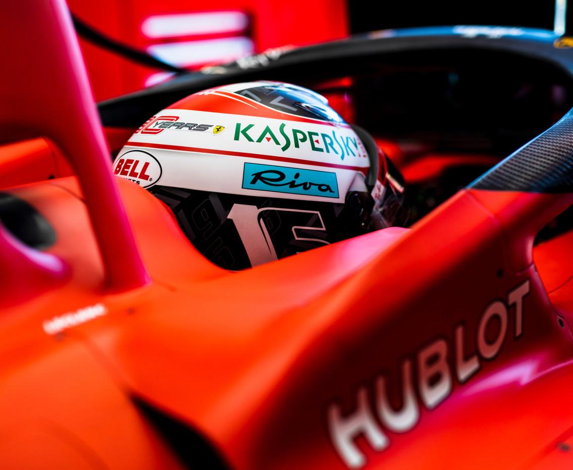 Formuła 1 Charles Leclerc Ferrari GP Francji