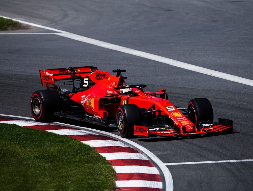 GP Kanady Sebastian Vettel Ferrari Formuła 1