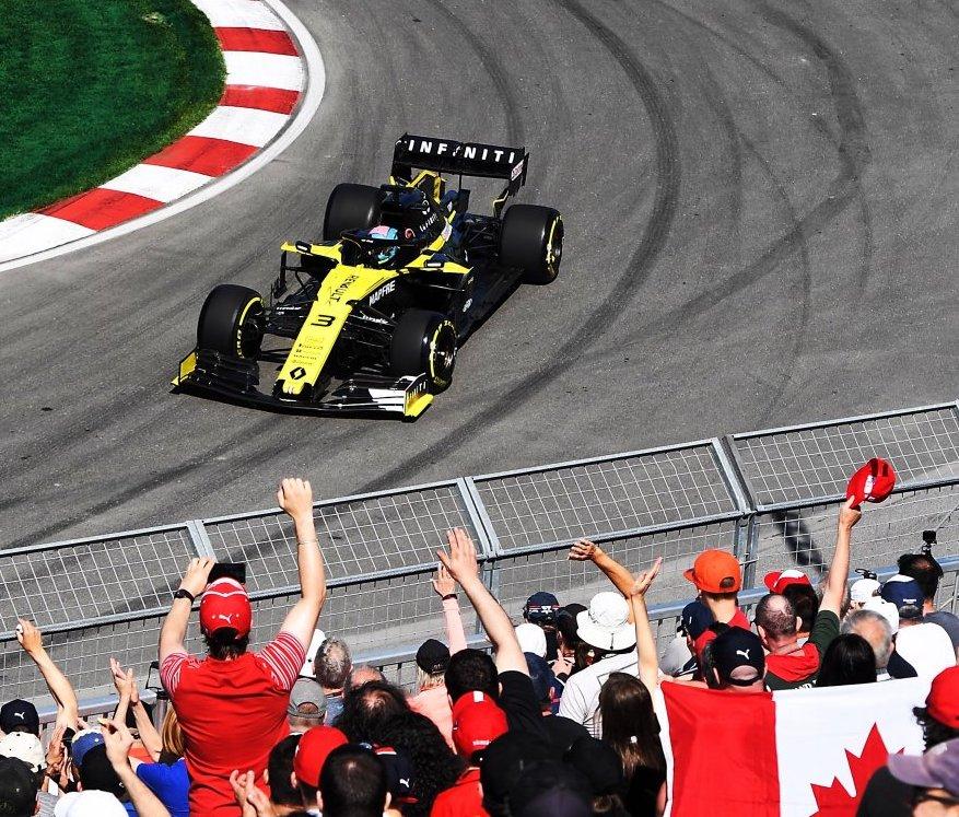 GP Kanady Renault F1 Ricciardo