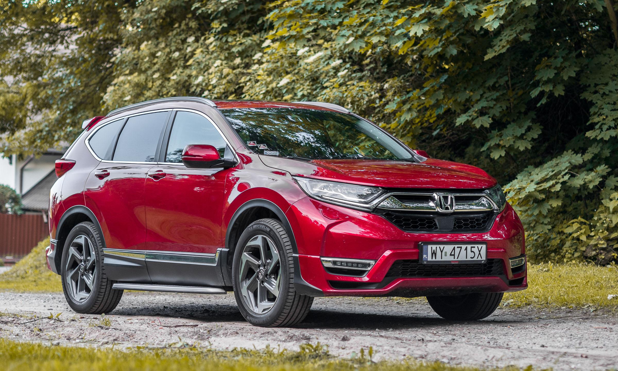 Honda CR-V 2019 test