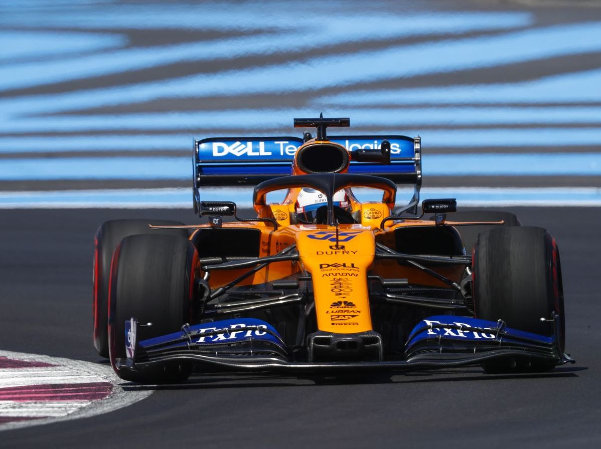 Formuła 1 Carlos Sainz McLaren GP Francji