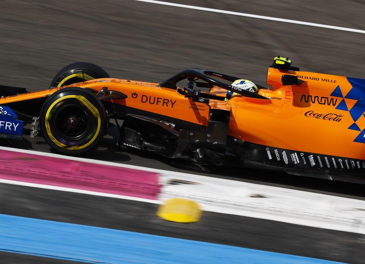 McLaren F1 Lando Norris 1 GP Francji