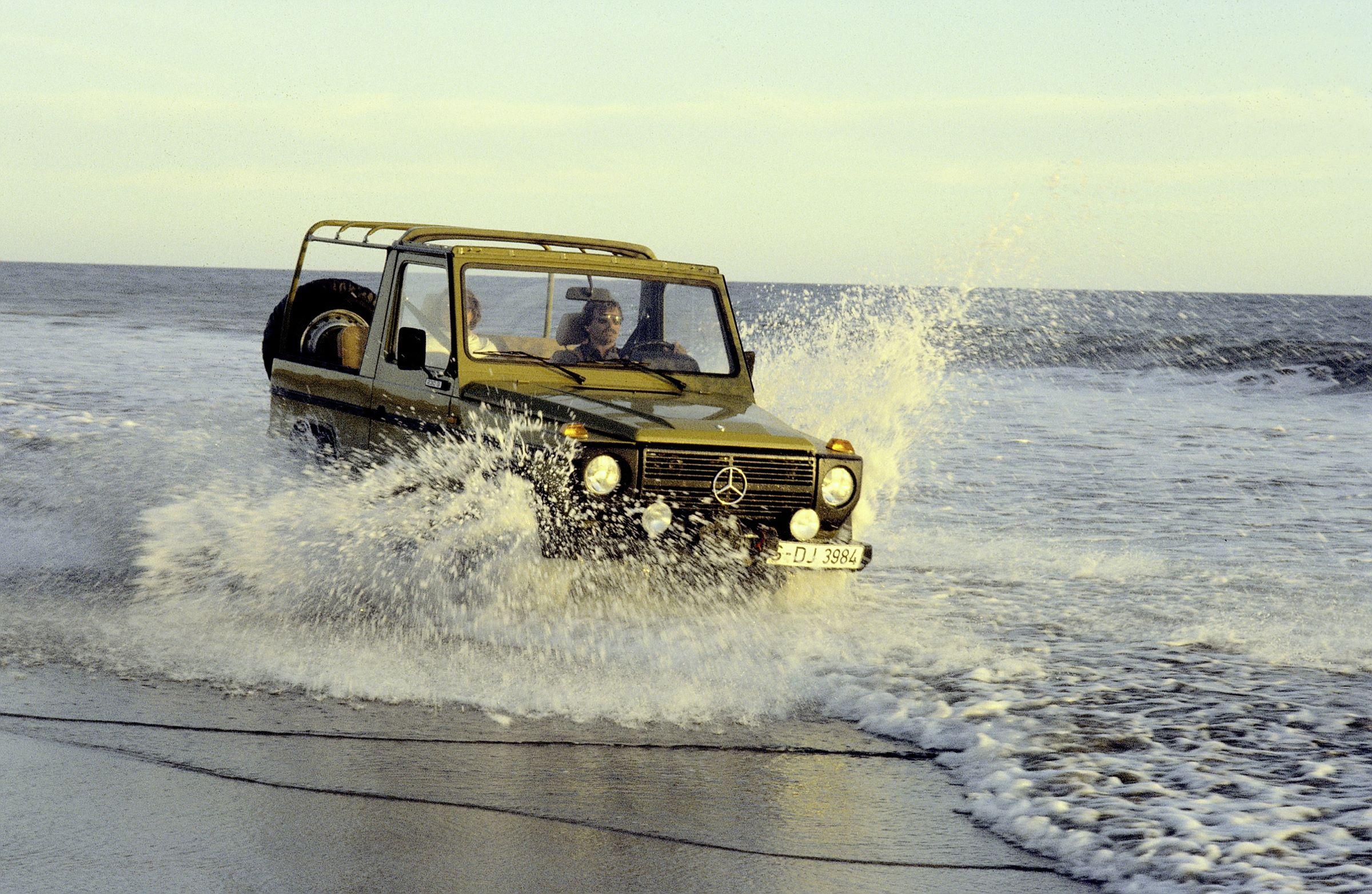 Mercedes G historia